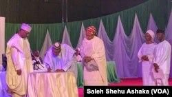 An Baiwa Buhari Da Osinbajo Shaidar Lashe Zabe