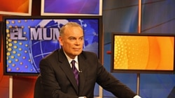 Gonzalo Abarca, host of El Mundo al Día (The World Today) VOA's daily 30-minute news program featuring U.S. and international news of interest to Latin America.