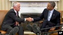 El primer encuentro entre el presidente Obama y el Primer Ministro australiano, Malcolm Turnbull, se produjo durante una reunión de la APEC en noviembre de 2015, en Filipinas.