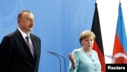 Kanselir Jerman Angela Merkel di Berlin, Jerman (7/6).