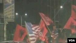 Proslava u Prištini nakon proglašenje neovisnosti Kosova