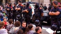 Полиция Каталонии (Mossos d'Esquadra)