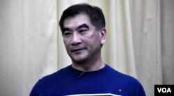 香港自由黨黨魁及立法會議員鍾國斌。(美國之音湯惠芸)