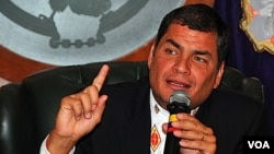 Rafael Correa ha prolongado el estado de excepción hasta el viernes.