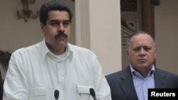 Nicolás Maduro, presidente en funciones, y Diosdado Cabello, cabeza de la Asamblea Nacional deben tomar decisiones.