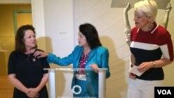 La Galería Nacional rindió honores a Dolores Huerta por su incansable lucha por los derechos básicos de los campesinos en Estados Unidos.