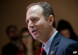 众议院情报委员会地位最高的民主党人席夫(Adam Schiff)回答记者问题(2017年3月24日)