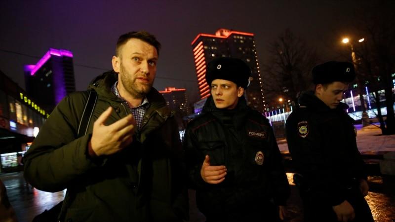 алексей навальный получил суток административного ареста
