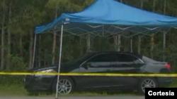 Según el testigo que vio el carro, la mujer debía estar entre los 25 y 30 años. Foto: Vía Univisión.