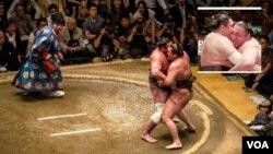 ეპიკური ბრძოლა: ტოჩინოშინმა 26-ე ცდაზე იოკოძუნა ჰაკუჰო პირველად დაამარცხა