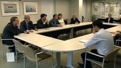 Македонски пратеници на студиски престој во Конгресот