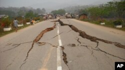 緬甸地震受災嚴重。