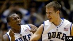 Игроки команды Duke Blue Devils