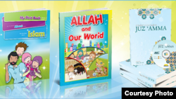Buku-buku yang dijual di Noor Art.