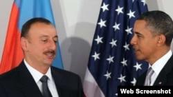 Barak Obama və İlham Əliyev