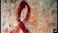 HIV AIDS တိုက္ဖ်က္ေရး အမွတ္တံဆိပ္