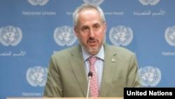 Juru bicara PBB Stephane Dujarric