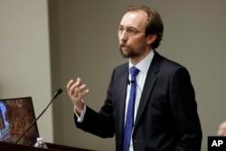 Zeid Ra'ad al-Hussein, jefe de derechos humanos de las Naciones Unidas.