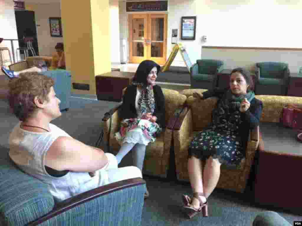 کتابخانه ساختمان Adele H. Stamp Student Union در دانشگاه مریلند