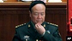 Lãnh đạo quân đội Quách Bá Hùng, 73 tuổi, vừa bị Trung Quốc khai trừ ra khỏi Đảng Cộng sản đương quyền.
