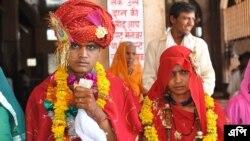 ভারতের রাজস্থানের একটি মন্দিরে বাল্য বিবাহ - ফাইল ফটো- এপি