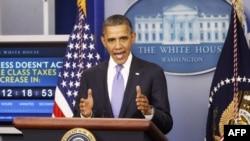 Ông Obama nói rằng người dân Mỹ đã chán ngán và mệt mỏi với những trò chơi chính trị và đáng được hưởng những điều tốt đẹp hơn.
