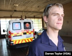 "Paramedic Victor Voorendyk says he sees ""disorganization and chaos"" on South Africa's roads, and is often witness to death and serious injury."