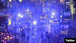 Las autoridades londinenses descartaron que el incidente en el que un taxi se subió a una acera y atropelló a un grupo de personas se trate de un acto terrorista. Photo: @Tlftrafficnews.