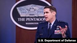 美军参谋长联席会议指挥、控制与通信部主任、空军中将施维多(Lt. General Shwedo)(美国国防部2020年4月13日)