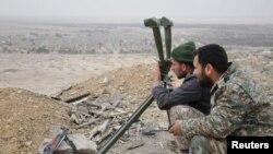 Сирійські сили біля Пальміри