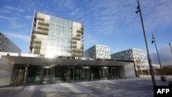 네델란드 헤이그의 국제형사재판소 ICC 건물. (자료사진)