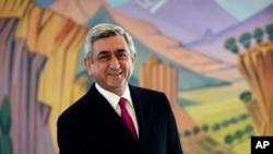 Tổng Thống Armenia Serge Sarkisian đã tái đắc cử nhiệm kỳ hai.