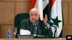 ولید المعلم، وزیرخارجۀ سوریه