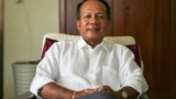 Ok Serei Sopheak is an independent analyst, and Chairman of the Board of Directors of Transparency International Cambodia in Phnom Penh, Cambodia, June 14, 2016. (Hean Socheata/VOA Khmer)