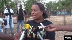 Angola, adminsitradora Kiwaba-Nzoji peovincia de Malanje Joana de Matos