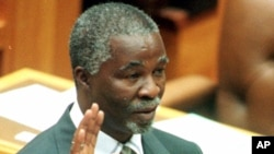 Former prime minister Thabo Mbeki banned the use of antiretrovirals from public health facilities