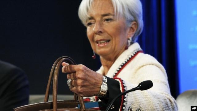 Izvršna direktorka MMF-a Kristin Lagard