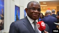 Ministro dos Negócios Estrangeiros, George Chicoti Chikoti