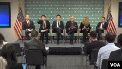 21일 워싱턴 DC 허드슨 연구소에서 아시아 안보 관련 토론회가 열렸다.