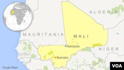 Nampala au Mali, une localité située à 514 km de la capitale Bamako.