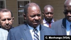 Zimbabwe's new health minister, Obadiah Moyo.