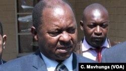 Zimbabwe's health minister, Obadiah Moyo.