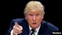 Donald Trump, presidente americano eleito