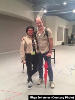Mhya Johannes dan Ira Weitzman, Produser & Sutradara drama In Trousers (Courtesy: Mhya Johannes)