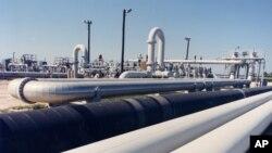 Нафтовий трубопровід поблизу міста Фріпорт, штат Техас