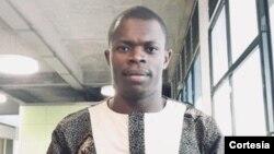 Calisto do Nascimento, pres. da Associação dos Estudantes da Língua Inglesa de São Tomé e Príncipe.