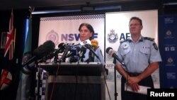 지난 2월 호주 시드니에서 연방경찰 당국이 테러 용의자 체포와 관련해 기자회견을 가지고 있다. (자료사진)
