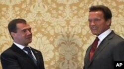 Рускиот претседател во посета на САД