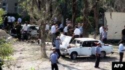 자살 폭탄 공격이 일어난 경찰서(자료사진)