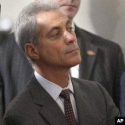 Rahm Emanuel à la Maison-Blanche